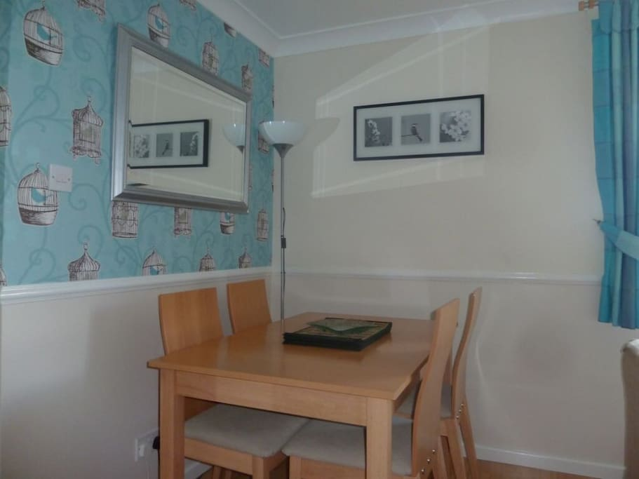 Darcey's Apartment, dining area,  Lakes Cottage Holidays
