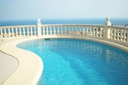 CUMBRE DEL SOL..... Villa with panoramic sea views - Benitachell