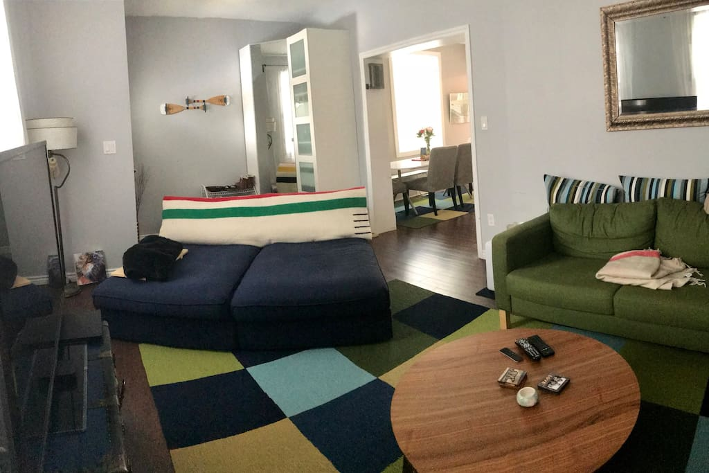Shared space - living room