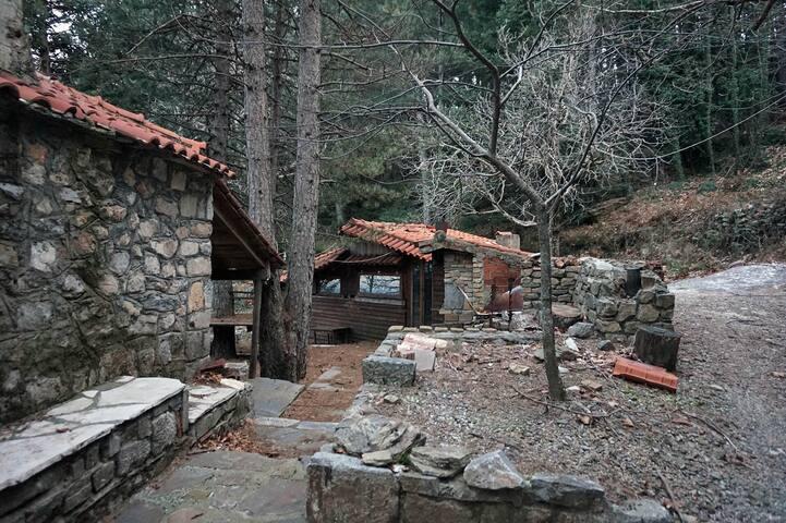 Taygetos Mountain Cabin - Penteli - 小屋