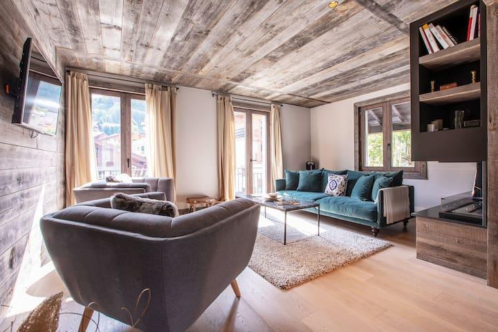 MEGEVE CENTRE - Superbe appartement 3 Chambres