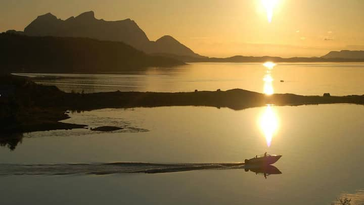 Nyt et fantastisk nordlys i Nordland