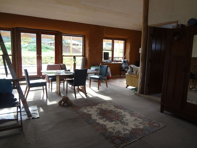 Strawbale House in the country - Araluen