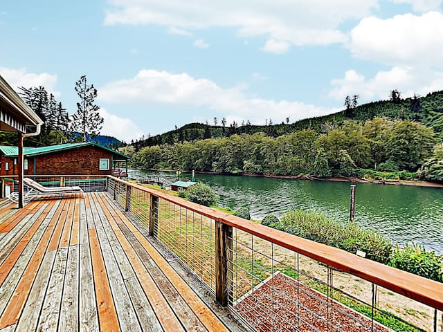 New Listing! Riverfront Getaway w/ Private Dock