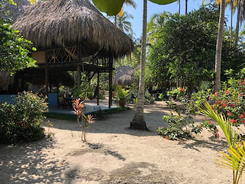 Playa NUBA,  200 mts of Private Beach Cottage