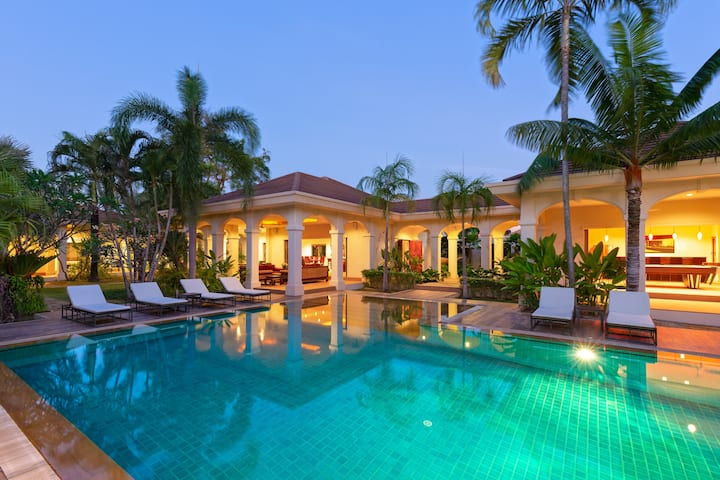 Heavenly Boutique Villa, Large Pool, Garden, Rawai