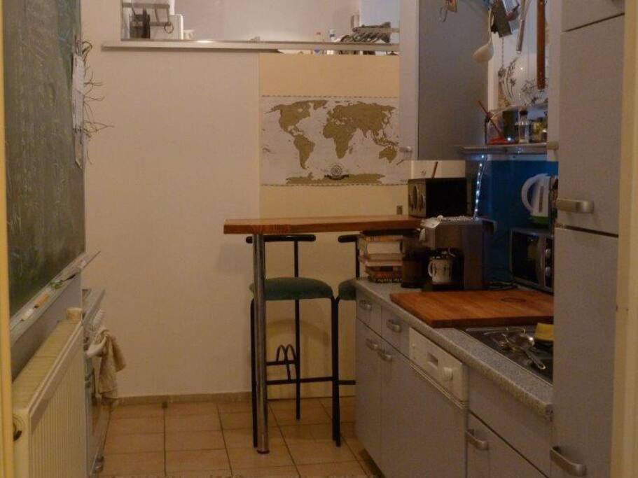 kitchen, breakfastbar