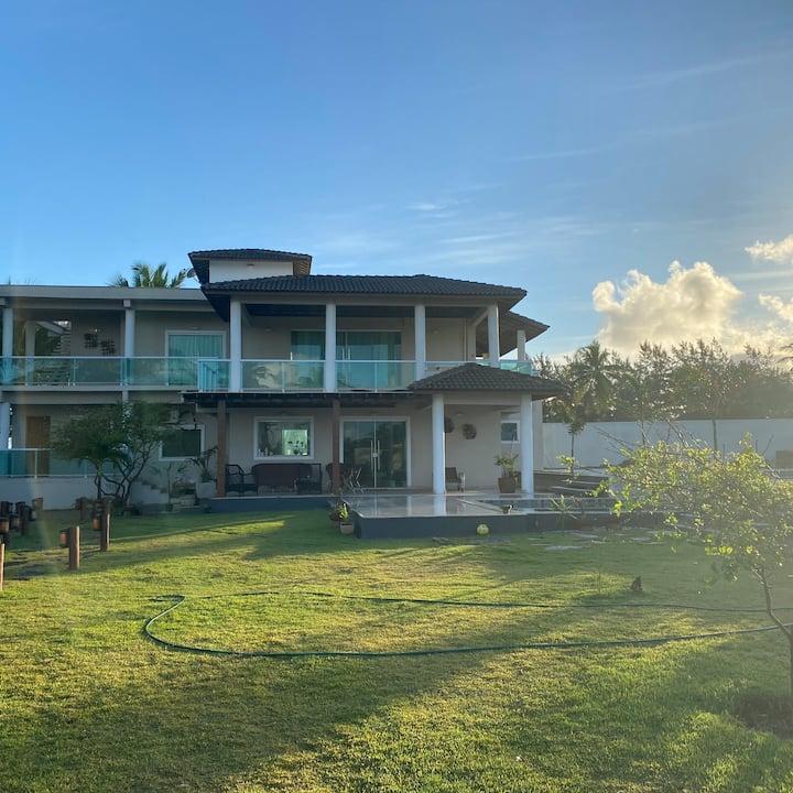 Casa de praia duplex com 2 piscinas