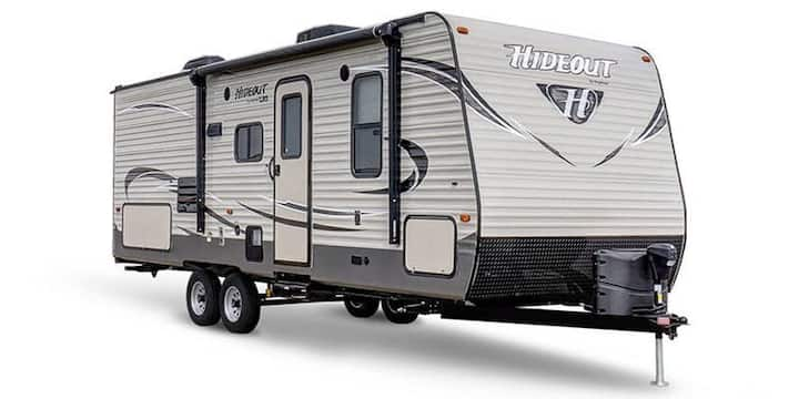 CrossFit Games RV Camper Onsite