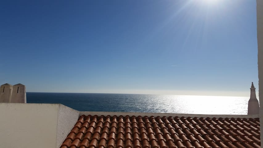 Nice apartment with an Ocean view - Budens - Daire