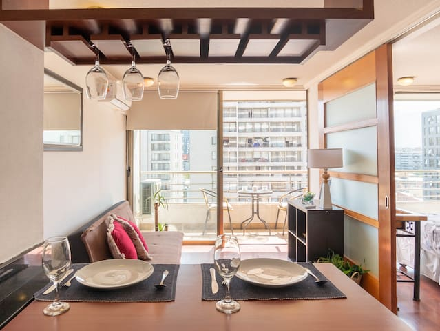 Incredible Apto in Providencia with AC&Terrace