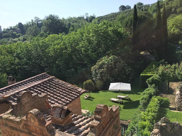 Oliveto Suite. Liberty rural retreat in Siena.