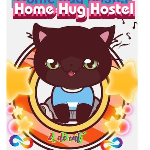 Home hug hostel & the cat