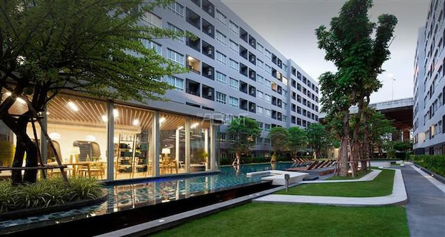 G2015Elio studio sukhumvit soi64 Near BTS Pool GYM