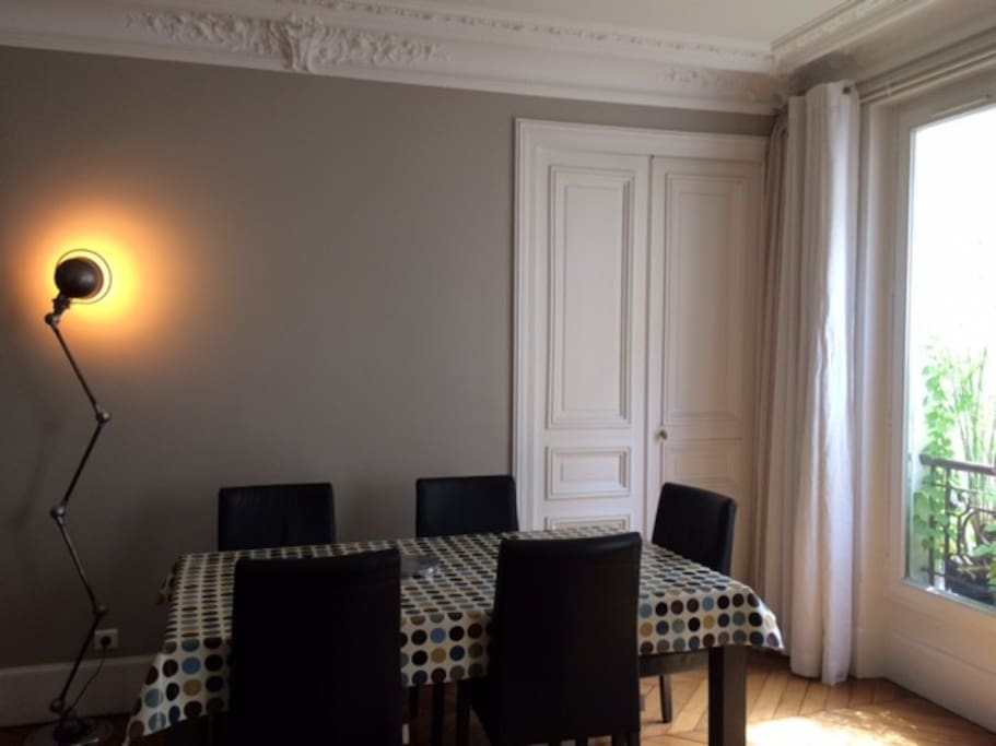 Salon - Salle à manger 25 m²