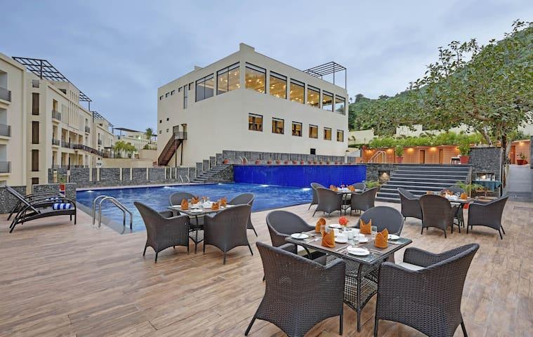 The kumbha Residency Luxury Resort, ValleyviewRoom