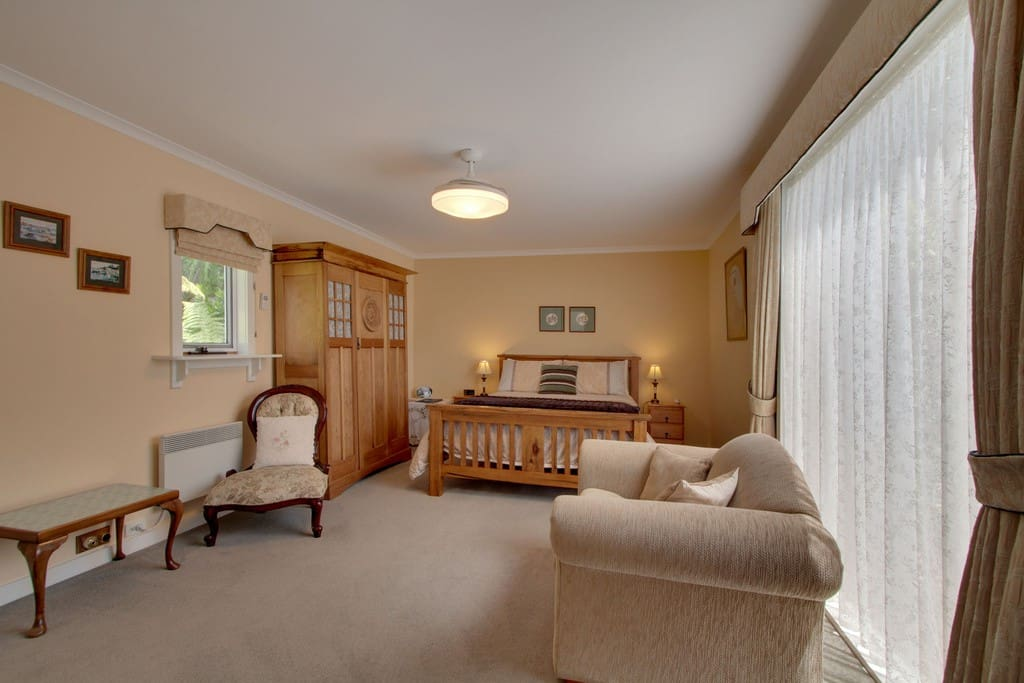 The Coach House Suite was part of the original 1910 home