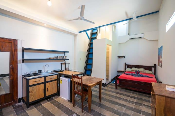Encantador Apartamento en un Gimnasio/Spa/Yoga