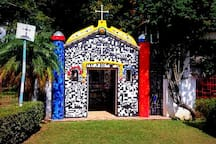 Pontos Turísticos: Capelinha de Mosaico