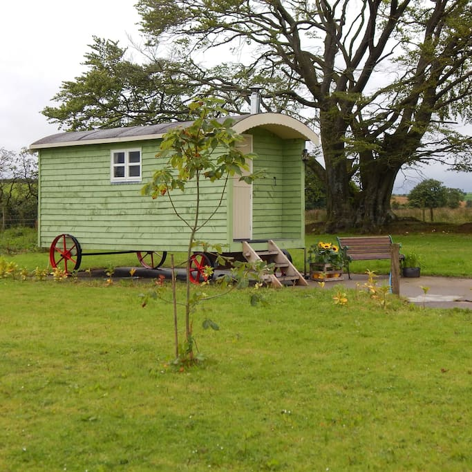 Shepherds Hut, Longtown, local views, Lakes Cottage Holidays