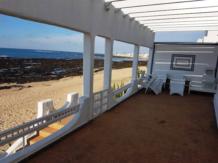 Maison vue sur mer Plage David