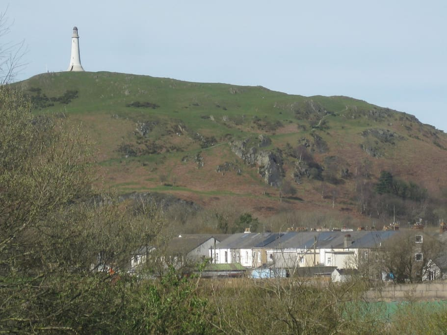 View of Hoad Hill from your bedroom
