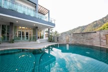 Pool right outside your doorstep