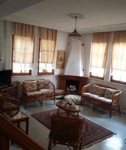 Villa Belen Günlük Kiralık Villa Bahçeli Şömineli - Kepez Belediyesi