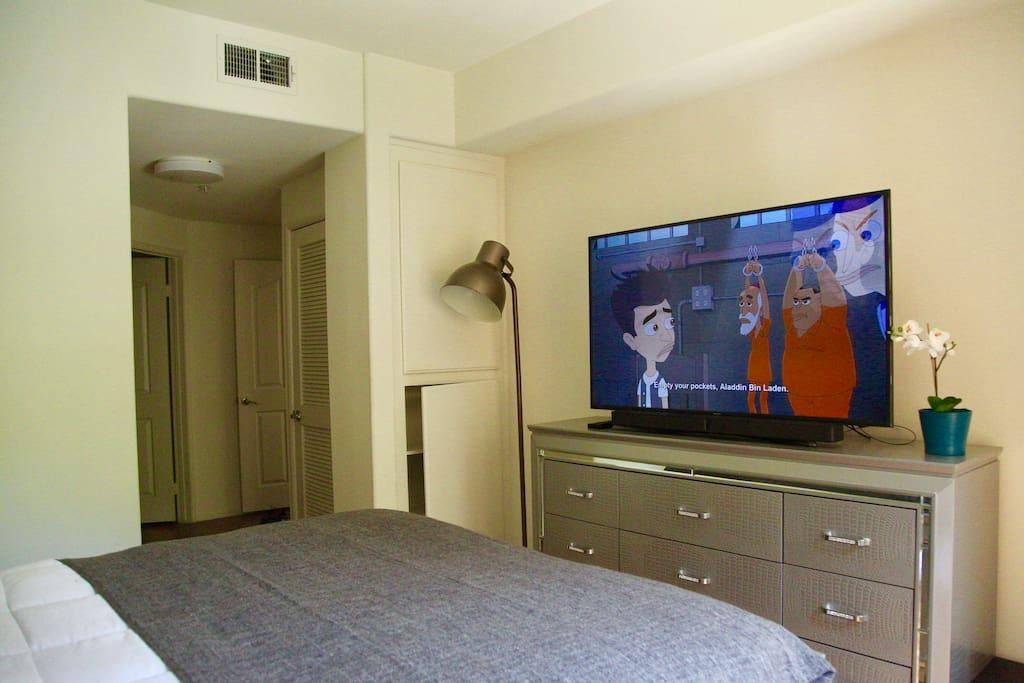 Bedroom 55 TV