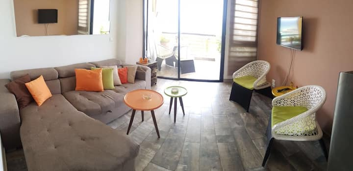 Special Offer Chalet@Solemar Sea view parking-wifi