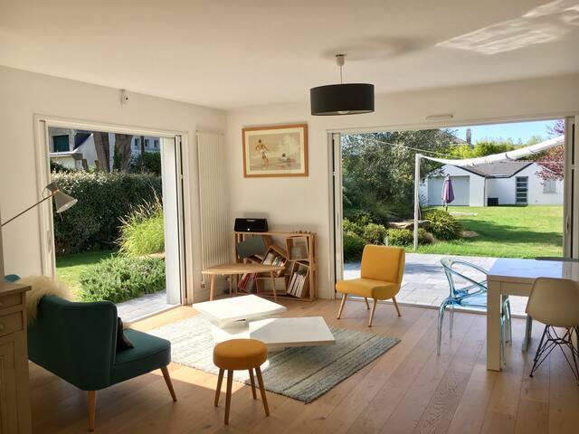 Superbe villa à 2 pas de la plage !
