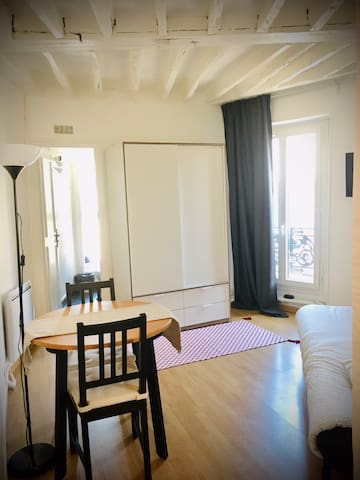 Nice studio apartment with all facilities nearby