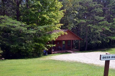 Cedar Grove Lodging: Deer Run Cabin - 洛根(Logan) - 小木屋