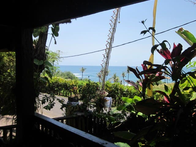 The Best Surf view in Balian, Single Bungalow