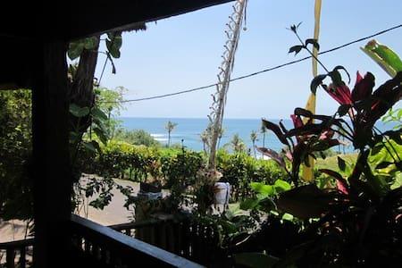 The Best Surf view in Balian, Single Bungalow