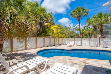 Private Pool Home with Spectacular Views to Beach - Captiva - Hus