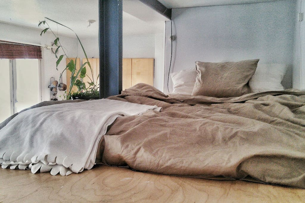 It is  a standard 120cm mattress. If you are two - make sure that it is good for you
