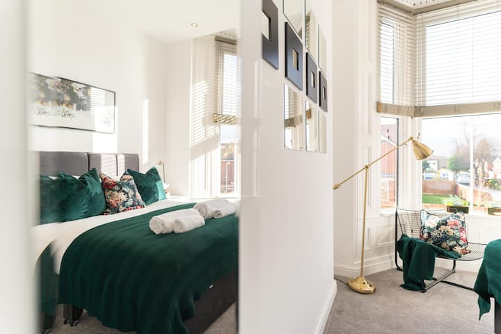 ❤️ ⭐️Tranquil Apartment in Moseley⭐️Birmingham❤️