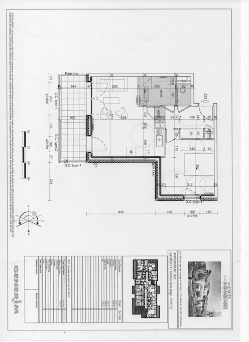 layout of flat