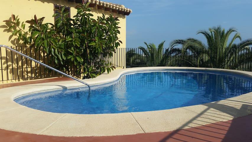 Private pool Great sea view Costa Blanca Alicante