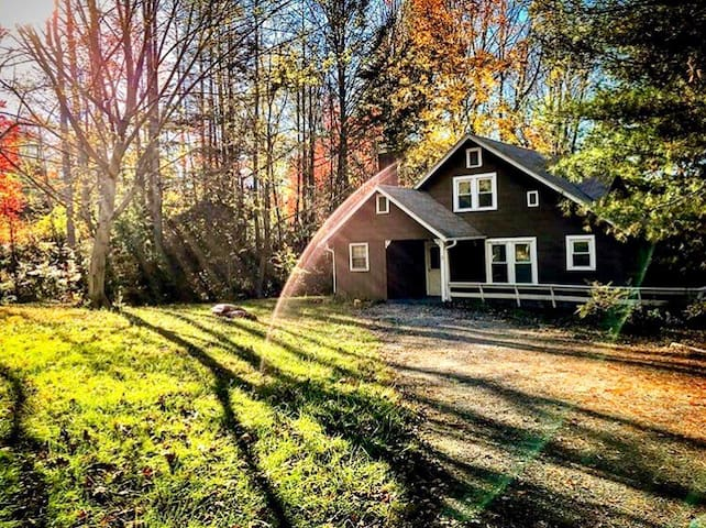 Cute lil cottage, 20 min. from AVL, dog friendly!