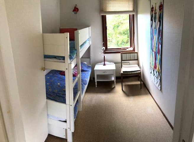 Bedroom 3 in the other house section with bunk bed 90x200