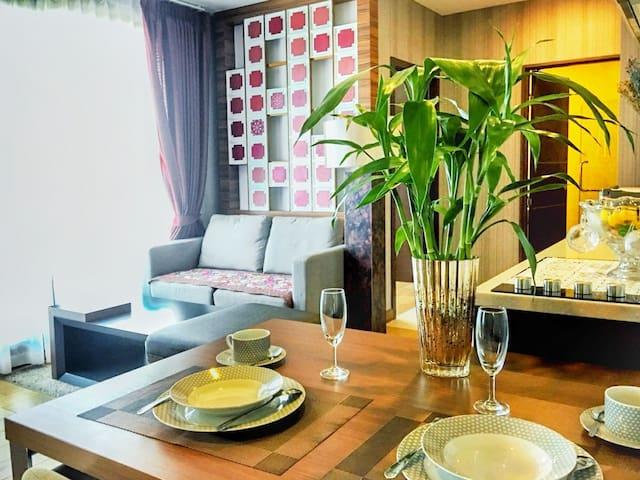 Astra New!!Two bedrooms, five mins to Night Bazaar