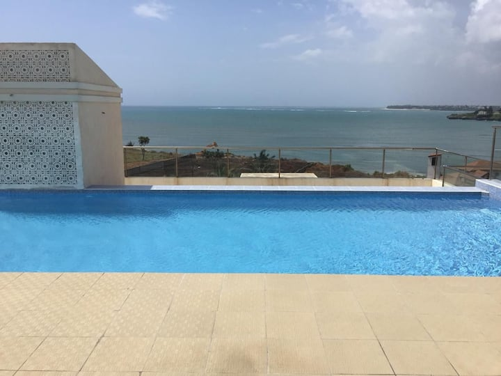 Nyali searenity  3 bedroom oceanview apartment