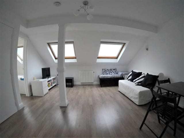 Entire Private Loft/Attic Apartment - Ealing B'way