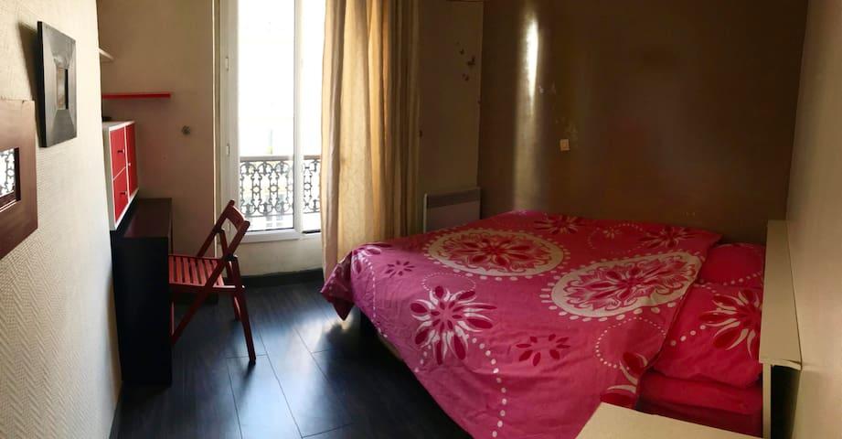 Chambre privée dans un bel appart à Montparnasse