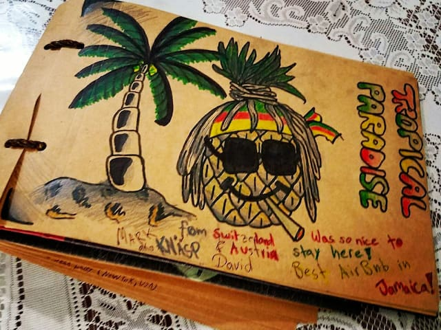 🌴Tropical Paradise Overlooking Caribbean Sea🌴