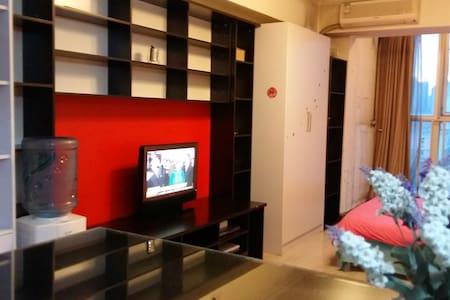 地铁零距离,出行便利装修温馨的独立开间公寓 - Wohnung
