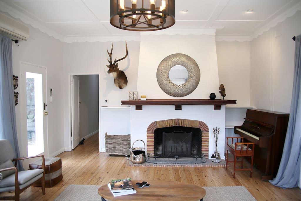 Main residence - formal lounge room