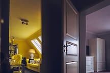Champagner Suite - Wohnraum